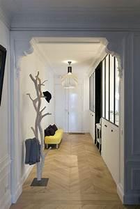 dcoration petite entre deco entree d appartement deco With porte d entrée alu avec console pour vasque salle de bains