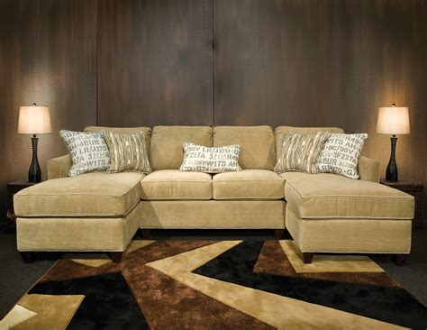 double sofas in living room sectional sofa with double chaise