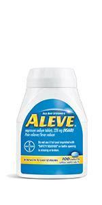 Amazon.com: Aleve Caplets with Naproxen Sodium, 220mg