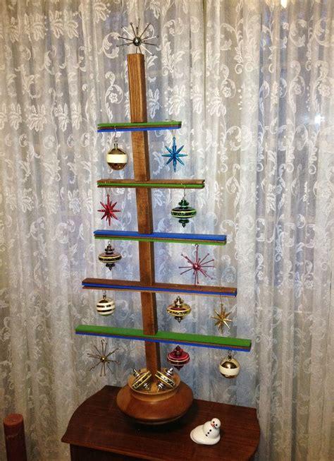 mid century modern christmas trees images