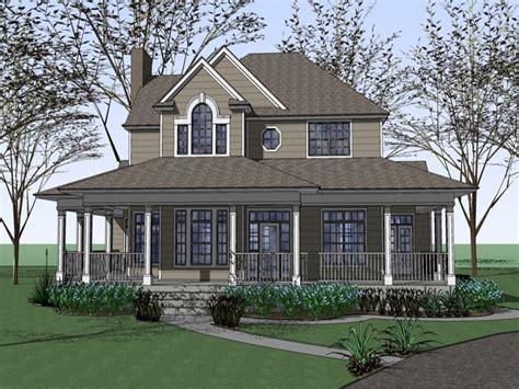 farm house plans  wrap  porches  fashioned