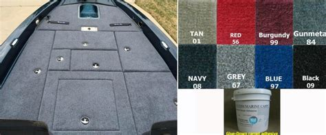 How To Carpet A Boat by Snap In Carpet By Custom Marine Carpet