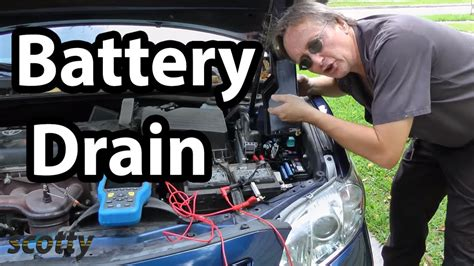 fix battery drain   car parasitic draw test