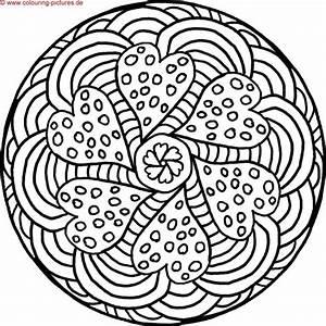 Mandalas Zum Ausdrucken Mandala Zentangle Art