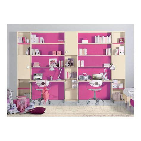 Scrivania Con Libreria Per Cameretta by Iiᐅ Libreria Cameretta Bambini Doppia Scrivania Gt0015lib