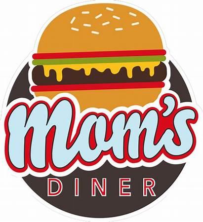 Diner Clipart American Transparent Mom Moms Webstockreview