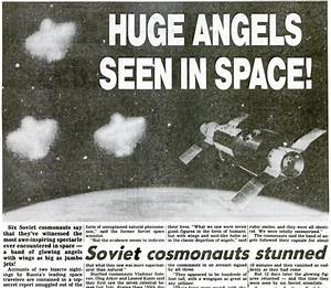 Angelic Beings Seen In Space By Astronauts And Satellites ...