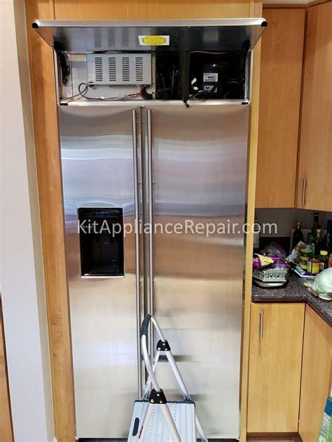 ge monogram refrigerator zissdrgss  cold repair cupertino ca