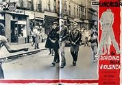 THE YOUNG SAVAGES MOVIE POSTER/IL GIARDINO DELLA VIOLENZA ...