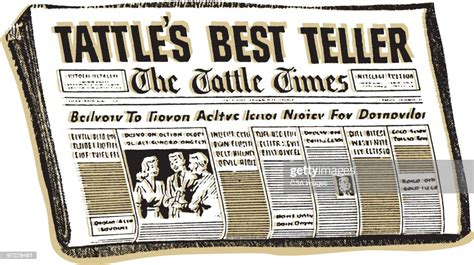 Newspaper High Res Vector Graphic Getty Images
