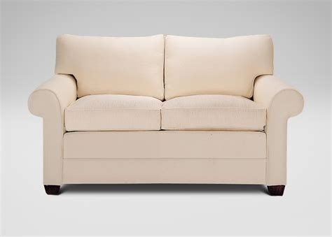 ethan allen sofas on sale bennett two cushion roll arm sofas and loveseat