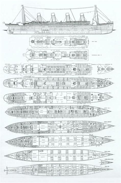 Titanic Boat Deck Map titanic interior map see titanic deck plans my titanic