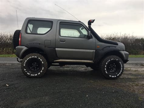 suzuki jimny lifted file trailmaster 2 quot and body lift jpg bigjimny wiki