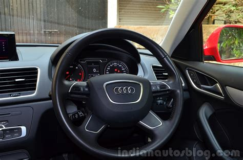 Audi Q3s Review Steering  Indian Autos Blog