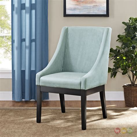 tide modern suede like upholstered dining side chair w