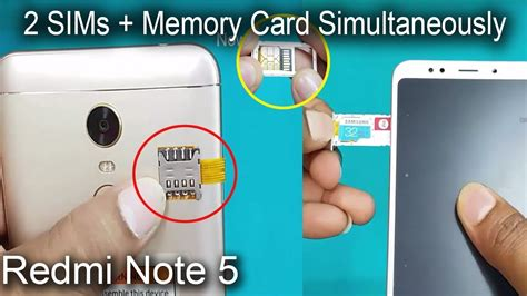 The main difference between a nano and a micro sim is the size of the plastic around the microchip. Xiaomi Redmi Note 5 - Dual sim & SD Card Simultaneously -How to use 2 Sims & SD Card in Redmi ...
