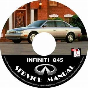 1998 Infiniti Q45 Oem Factory Service Repair Shop Manual