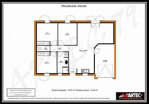 plan maison 3 chambres 100m2 immobilier pour tous With plan maison 100m2 3 chambres