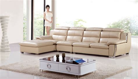 3 Pc Living Room Sofa Sets by 3 Pc Modern Contemporary Leather Sectional Sofa Chaise