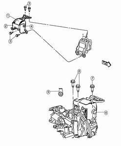 2016 Jeep Patriot Insulator  Engine Mount  Left Side   5
