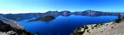 Lake Crater Wallpapers Landscape Mountain 3840 1080