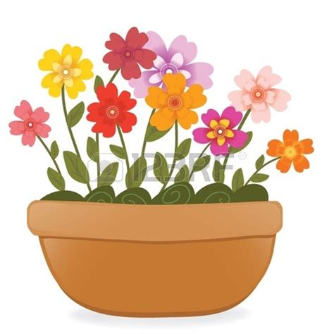 Flower Pot Clipart Potted Plant Drawing Clipart Panda Free Clipart Images