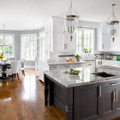 oxford white kitchen cabinets great color combo with wood flooring walls coventry gray 3910