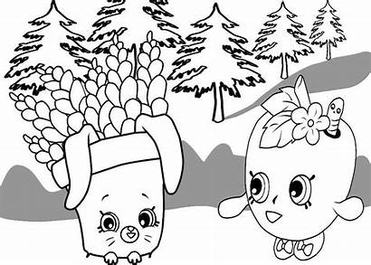 Fern Coloring Pages Getcolorings Freda Forest Printable