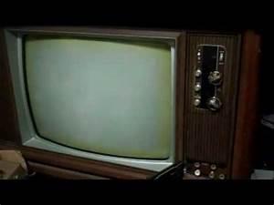 Zenith 25cc50 Television Tv Repair Vintage Color Hybrid