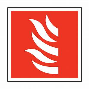Fire Symbol Square Sticker – Safety-Label.co.uk | Safety ...