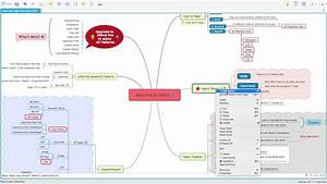 How To Work With Large Mind Map In Xmind 7