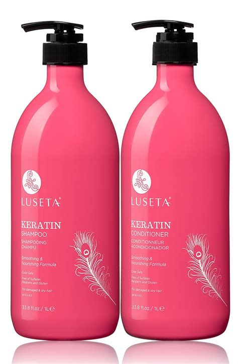 Amazon.com: Luseta Keratin Smooth Hair Mask 16.9 oz: Beauty