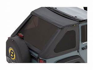 Bestop Jeep Wrangler Tinted Replacement Window Set For