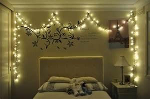 Guirlande Lumineuse Chambre : int ressante d coration de no l pour une chambre sympa design feria ~ Teatrodelosmanantiales.com Idées de Décoration