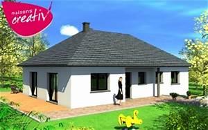 maison bbc plain pied maison 5 pices 98 m maison With lovely type de toiture maison 17 maison toit plat et toiture terrasse bac acier ou siplast