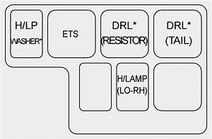 Kia Amanti  2003 - 2005  - Fuse Box Diagram