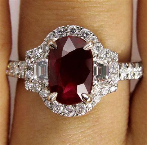 best 20 ruby rings ideas on