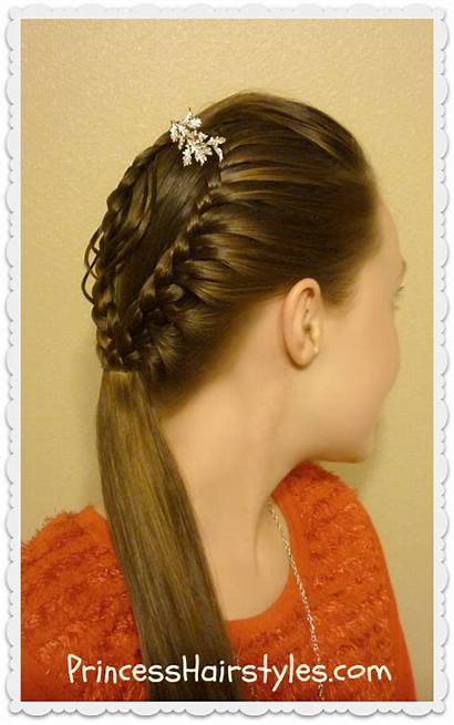 Christmas Hair Ornament Hairstyle Braided Hairstyles Tutorial