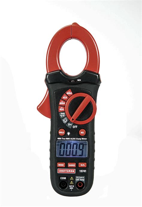 craftsman  acdc true rms clamp meter