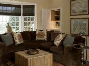 what color should i paint my living room with a brown
