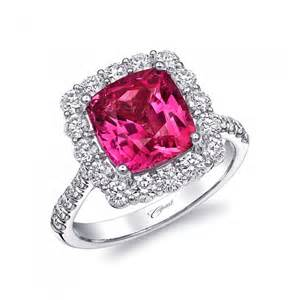 pink gemstone engagement rings coast predicts sapphire ruby and alexandrite halo engagement rings to be popular