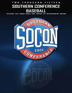 2015 Southern Conference baseball media guide by Southern ...