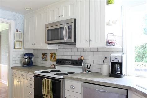 kitchens with subway tile backsplash kitchen subway tile backsplash better remade