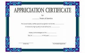 long service award certificate templates the best With long service certificate template sample