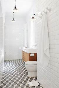 29, Grey, And, White, Bathroom, Floor, Tiles, Ideas, And, Pictures, 2021