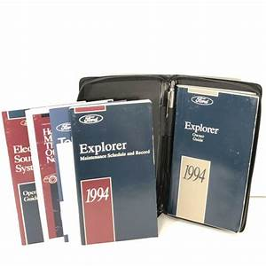 1994 Ford Explorer Owner Guide Manual Literature Softcover