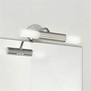Spiegelleuchte Bad Led : badleuchte spiegelleuchte wandleuchte glas stahl bad lampe halogen led geeign ebay ~ Buech-reservation.com Haus und Dekorationen