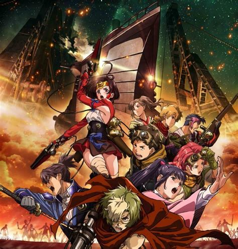 Kabaneri Of The Iron Fortress Wallpaper Update Latest Kabaneri Of The Iron Fortress Promos Feature Aimer X Chelly And Egoist Themes