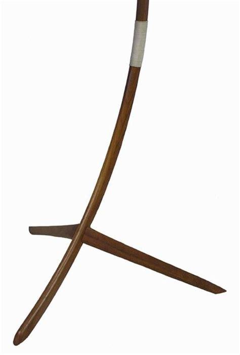 teak arc floor l 1960s danish modern teak tripod leg floor l at 1stdibs