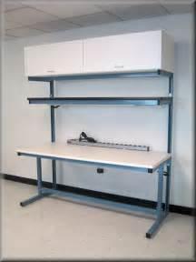 rdm workbench f 103p cab tech table w upper shelf amp lower storage cabinet